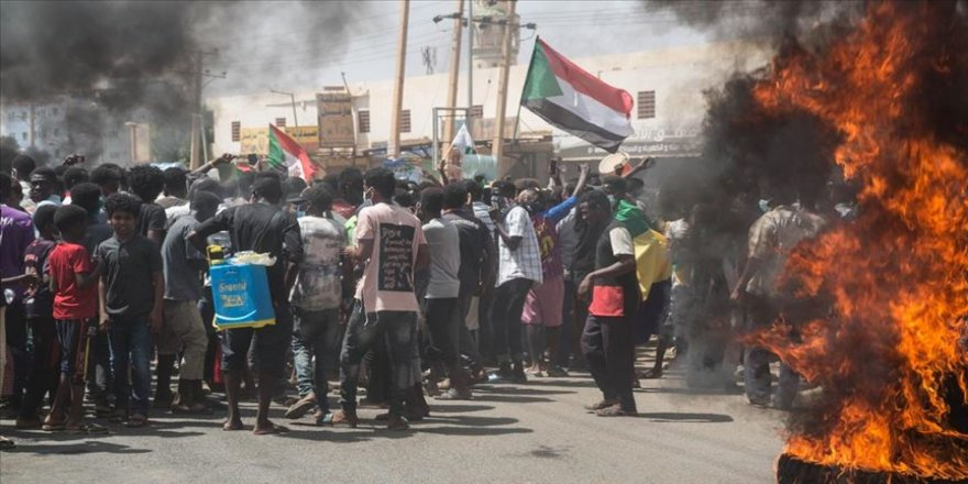 Sudan'da 30 Haziran gösterilerinde 1 kişi öldü