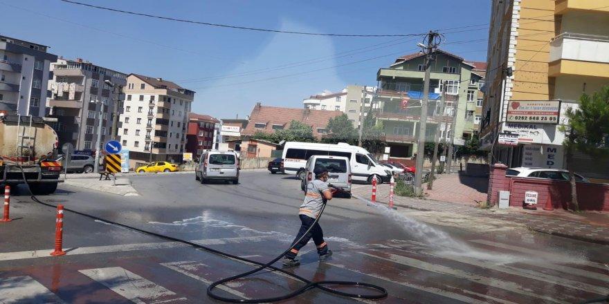 Gebze'de caddeler pırıl pırıl
