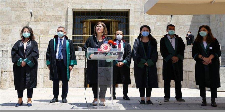 HDP Grup Başkanvekili Beştaş, barolara ilişkin düzenlemeye tepki gösterdi