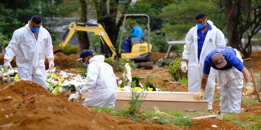 Kovid-19'dan saatte Brezilya'da 1252, Meksika'da 679, Hindistan'da 391 kişi öldü
