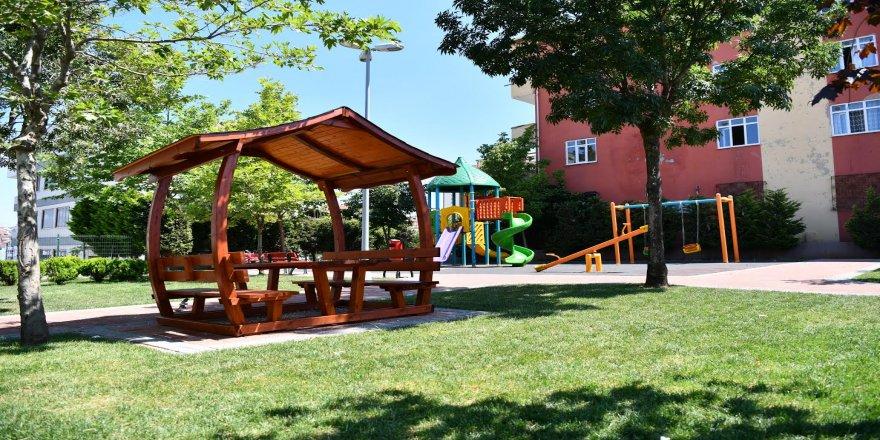Şehitlik Parkı yenilendi