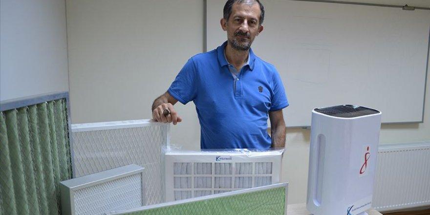 Yerli imkanlarla jel hava filtrelendirme sistemi üretildi