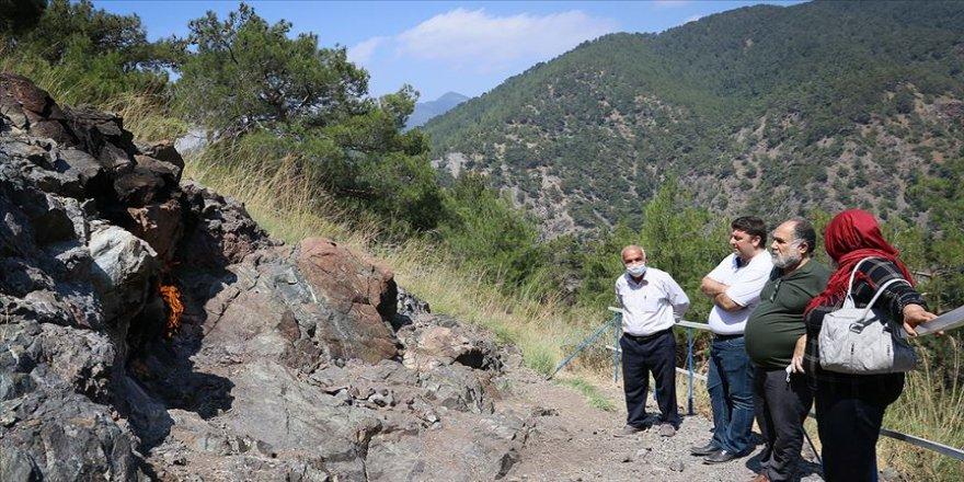 Amanoslar'ın 'yanan taşları turizme kazandırılacak