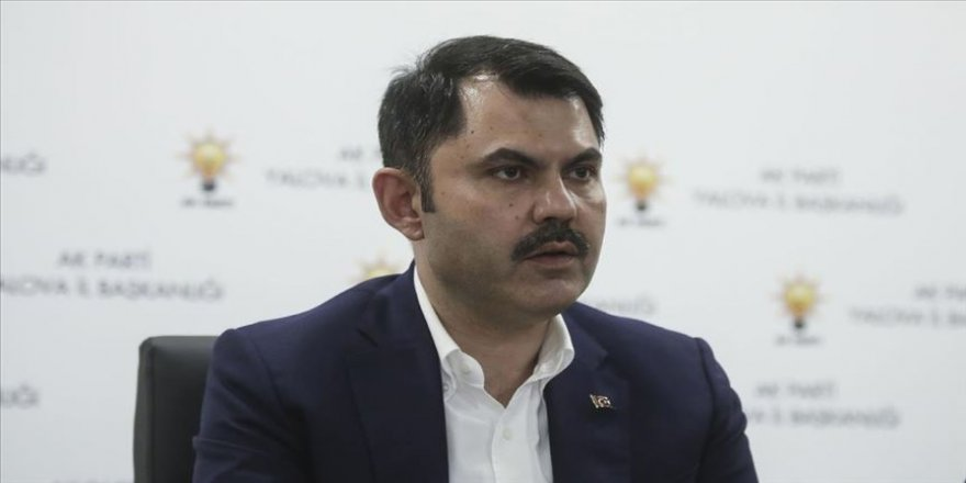 Çevre ve Şehircilik Bakanı Murat Kurum'dan kentsel dönüşüm açıklaması