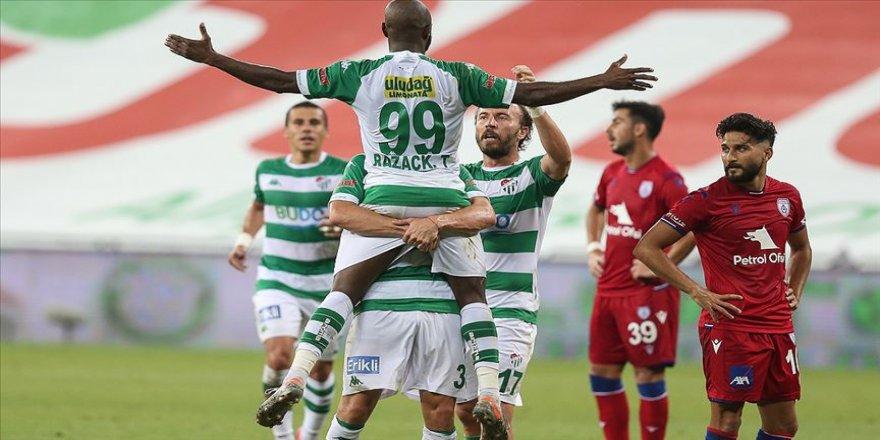 Süper Lig hedefine kilitlenen Bursaspor'a 2 milyon liralık prim vaadi