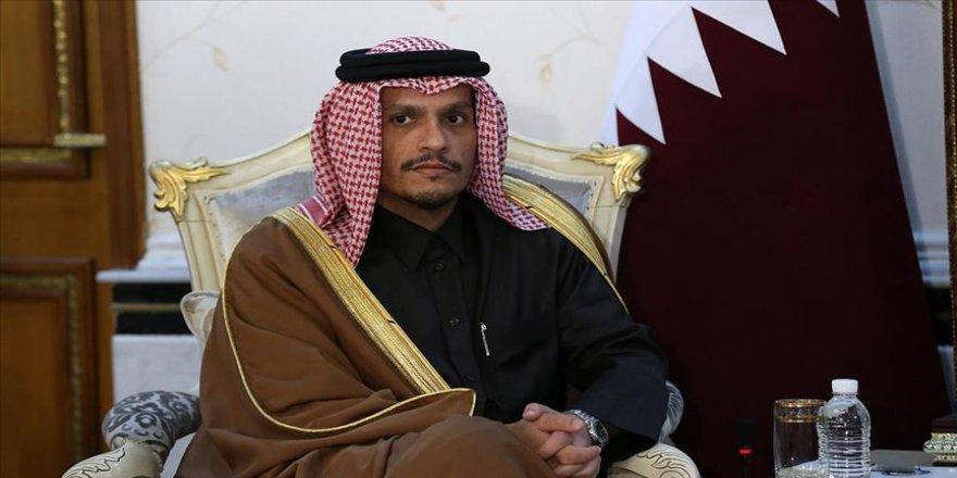 Katar Dışişleri Bakanı Al Sani: Libya krizinin tek çözüm yolu meşru hükümeti desteklemek
