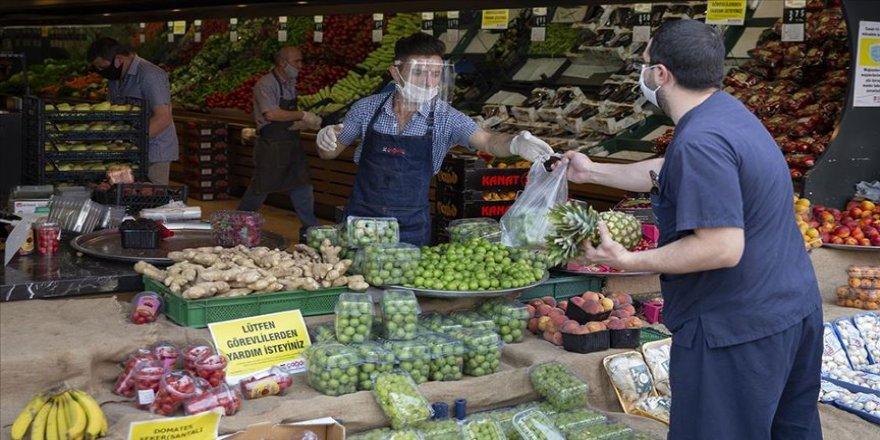 Market ve süpermarketlerde Kovid-19'a karşı alınması gereken önlemler güncellendi