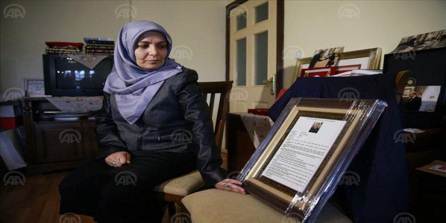 15 Temmuz'un ilk şehidi Aydın'ın eşi: Cezaların onanması bayram günümüz olacak