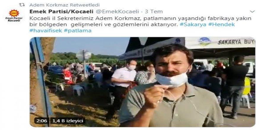 Kocaeli İl Sekreteri Hendek paylaşımları sebebiyle ifadeye çağrıldı