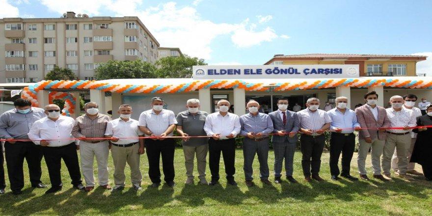 Gebze'de Elden Ele Gönül Çarşı'sı Açıldı
