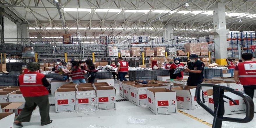 Türk Kızılay Darıca Şubesi Marmara Bölge Afet Yönetim Merkezinde