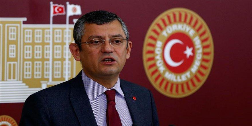 CHP'li Özel'den hava fişeklerin satılması ve ithalinin yasaklanmasına ilişkin kanun teklifi