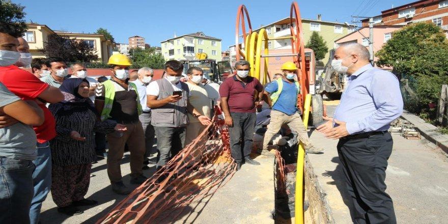 Yavuz Selim Mahallesi'nde doğalgaz çalışmaları başladı