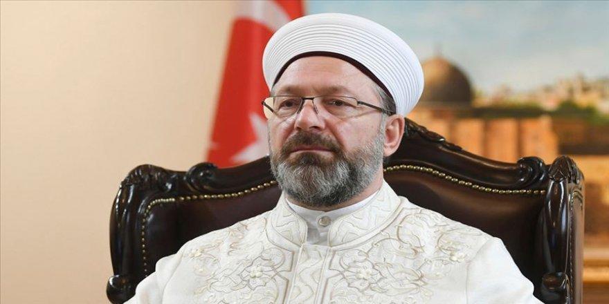 Diyanet İşleri Başkanı Erbaş, canlı yayında Ayasofya'nın ibadete açılmasına ilişkin soruları yanıtladı