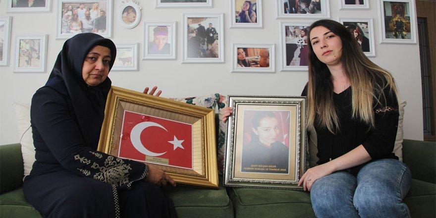 Şehit komiser yardımcısı Gülşah Güler'in ailesinin acısı tazeliğini koruyor