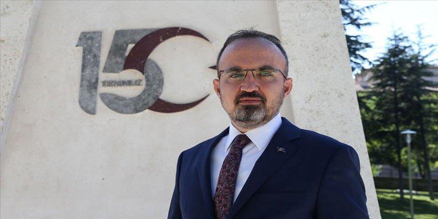 AK Parti Grup Başkanvekili Turan: 15 Temmuz birileri için onur günüyken birileri için utanç günü olmaya devam ediyor