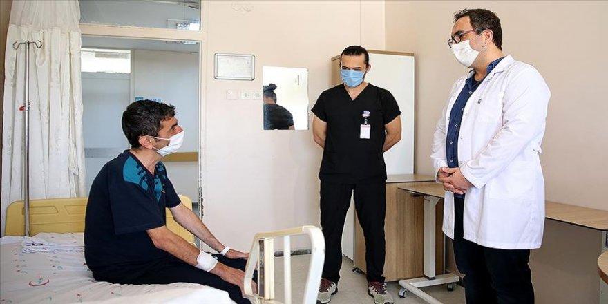 Lokal anestezi ile akciğer ameliyatı yapılan hasta sağlığına kavuştu