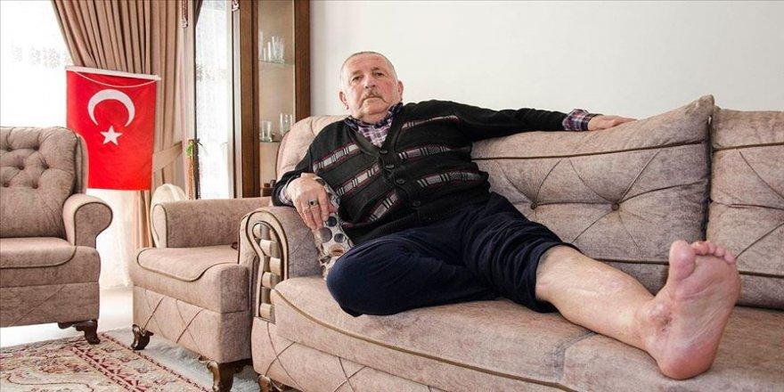 74 yaşındaki 15 Temmuz gazisi vatan için her zaman göreve hazır