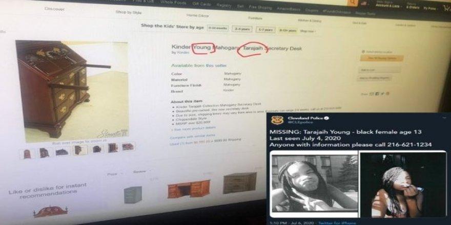 e-ticaret sitesinde, ilanlara kodlar ekleyerek kayıp çocukları on binlerce dolara satıyorlar