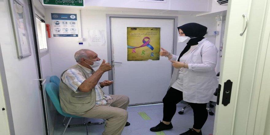 Mobil kanser tarama aracı,Darıca'da Suriyeli mülteciler için hizmet veriyor