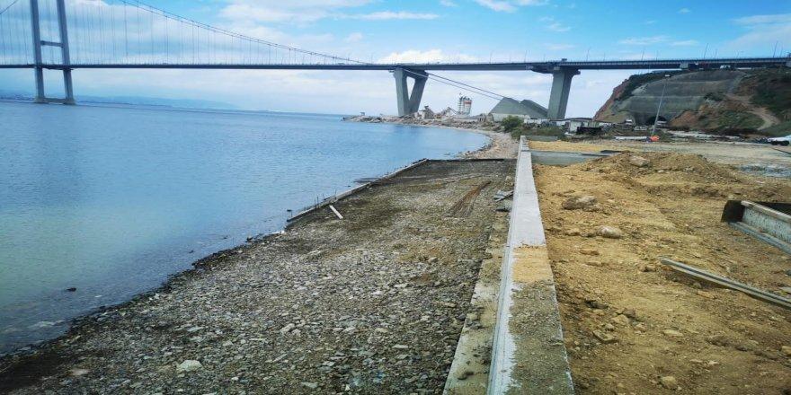 Diliskelesi Sahil Düzenleme Projesi 33 bin metrekare alana sahip