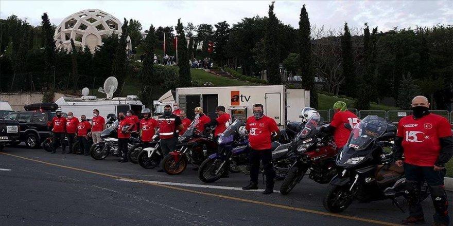 Türkiye Motosiklet Federasyonundan 15 Temmuz dolayısıyla anma sürüşü