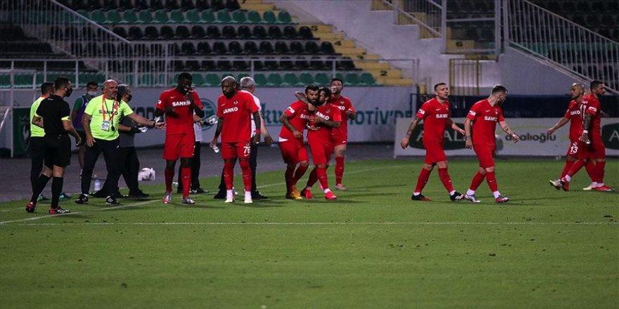 Gaziantep FK lige verilen aranın ardından yenilmezlik serisi yakaladı