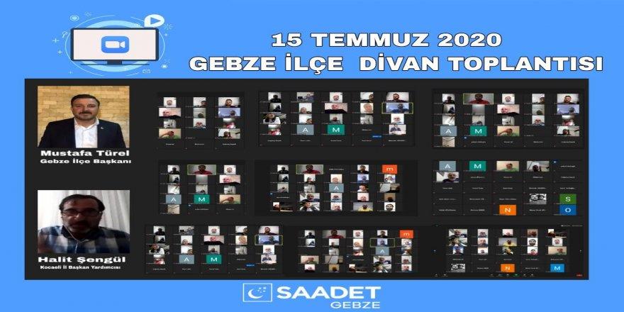 Türel,Gebze'de Saadet Partisi için Altın bir dönem başlayacak