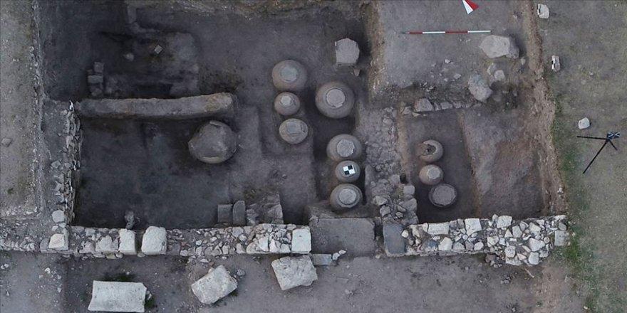 Amorium Antik Kenti'nde Bizans döneminden kalma tahıl ambarı bulundu