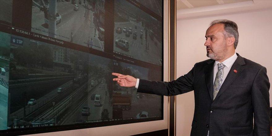 Bursa trafiği 'Elektronik Denetleme Sistemleri' ile 7 gün 24 saat takip edilecek