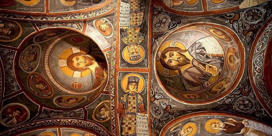 Karanlık Kilise'nin freskleri ile bin yıl öncesine yolculuk