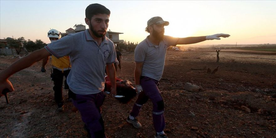 İdlib'e düzenlenen hava saldırılarında 3 sivil öldü, en az 7 sivil yaralandı
