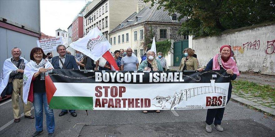 Avusturya'da İsrail ve ABD protesto edildi