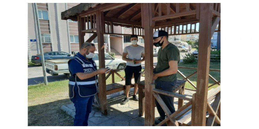 Kocaeli'de yasaklara uymayan vatandaşlara cezai işlemler yapılıyor