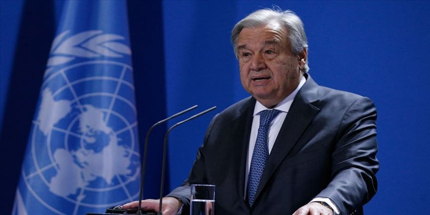 BM Genel Sekreterinden Lübnan'a taziye mesajı