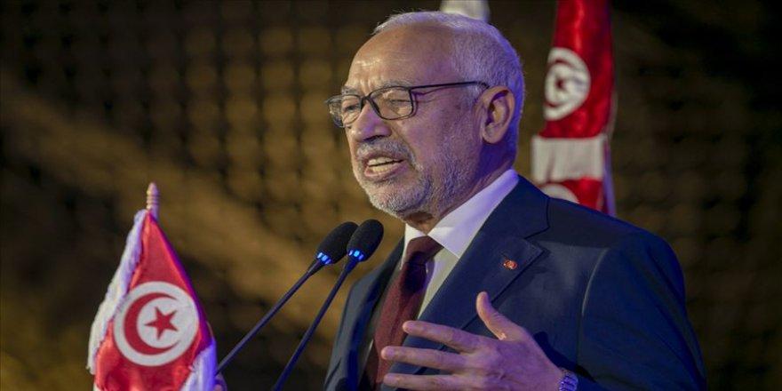 Gannuşi: Tunus'taki özgürlük bazı Arap ülkelerini endişelendiriyor