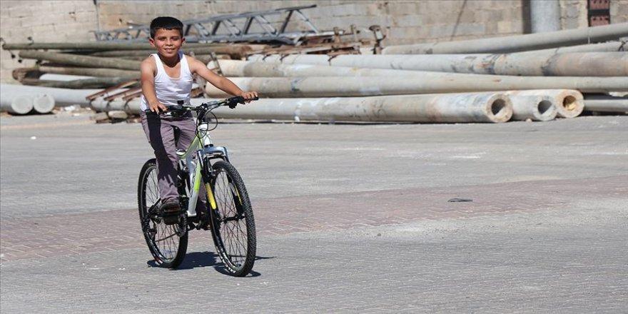 Şanlıurfa'da kaybolduktan 5 gün sonra bulunan çocuk bisiklet hayaline kavuştu
