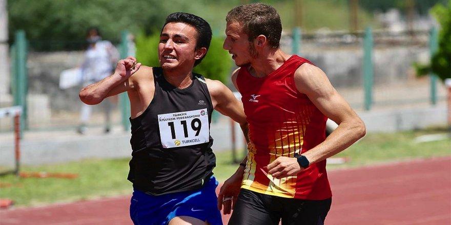 Görme engelli atlet koşu bandında başlayan serüveninde madalyaya doymuyor