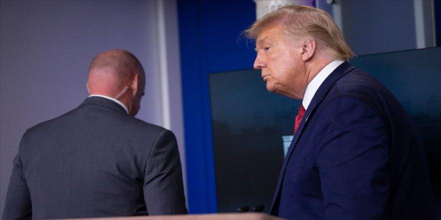 ABD Başkanı Trump basın toplantısı düzenlediği salondan çıkarıldı