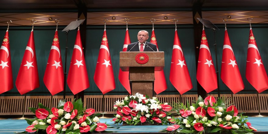 Cumhurbaşkanı Erdoğan: Akdeniz'de kendi planlarımızı uygulamaya devam edeceğiz
