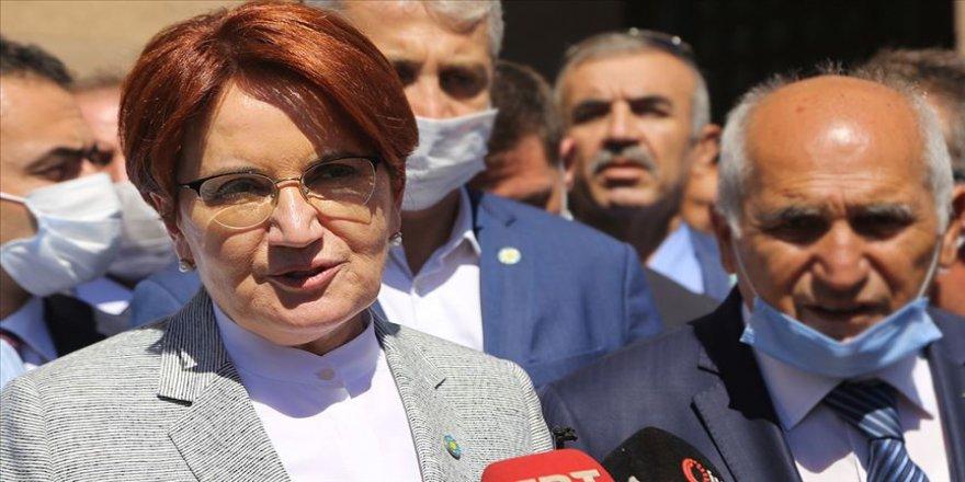 İYİ Parti Genel Başkanı Akşener: Çok yakın zamanda seçim beklemiyorum
