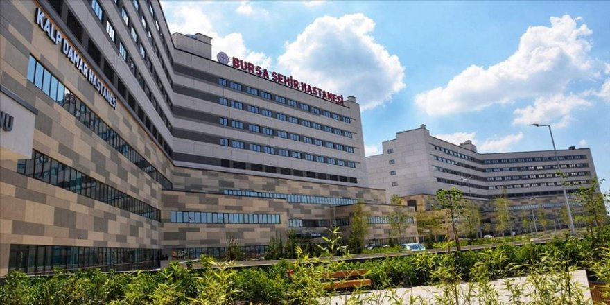 Bursa Şehir Hastanesi 1,5 milyon kişiye poliklinik hizmeti sundu