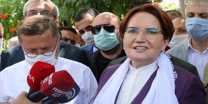 İYİ Parti Genel Başkanı Akşener: Yola çıktığımız hiçbir grubu ve insanı yolda bırakmadık