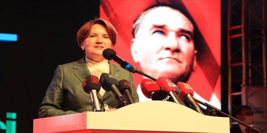 İYİ Parti Genel Başkanı Akşener, Kocaeli'de toplu açılış töreninde konuştu