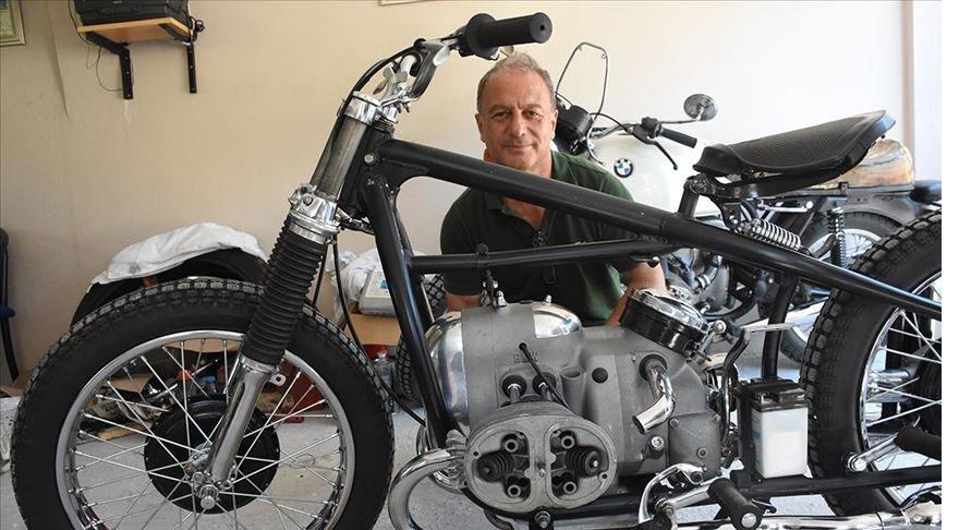 Gençlik hatırası 67 yıllık motosikleti yeniden yollarla buluşturmak için gün sayıyor