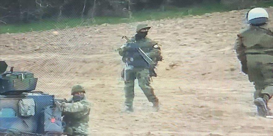 Batı Trakya'da Yunan askerleri Türk köyünde tatbikat yaptı