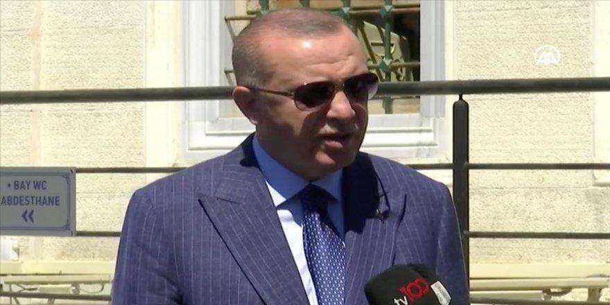 Cumhurbaşkanı Erdoğan: Sivil gemilerimize karşı yapılabilecek en ufak bir saldırıyı cevapsız bırakamayız
