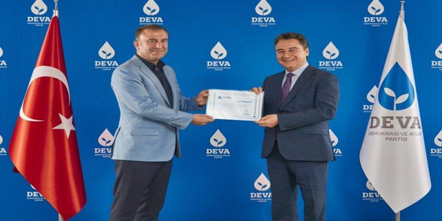 DEVA Partisi, İstanbul İl Başkanını açıkladı