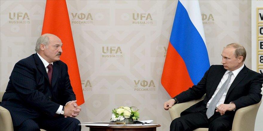 Lukaşenko ve Putin Belarus'taki protestoları görüştü