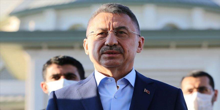 Cumhurbaşkanı Yardımcısı Oktay'dan 'Doğu Akdeniz 'açıklaması